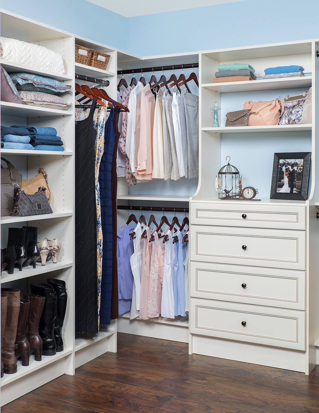 Custom Closet Designs And Storage Solutions By Desert Sky