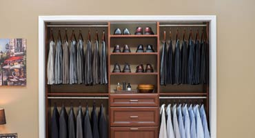 master bedroom closet organizers custom closet designs and storage solutions by desert sky 16011