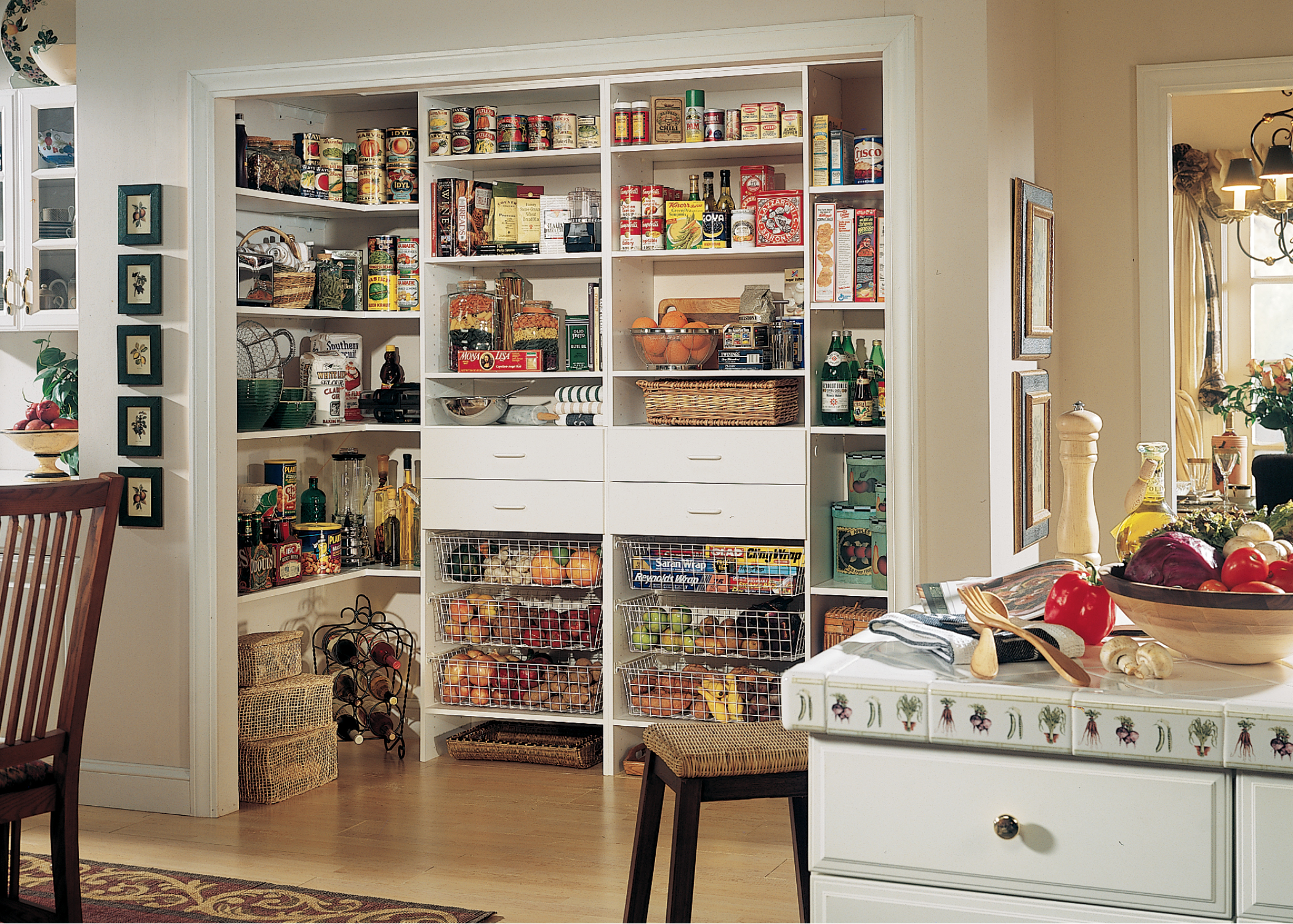 Custom Closet Designs and Storage Solutions by Desert Sky Doors And on kitchen food storage, kitchen dish storage, kitchen vegetable storage,