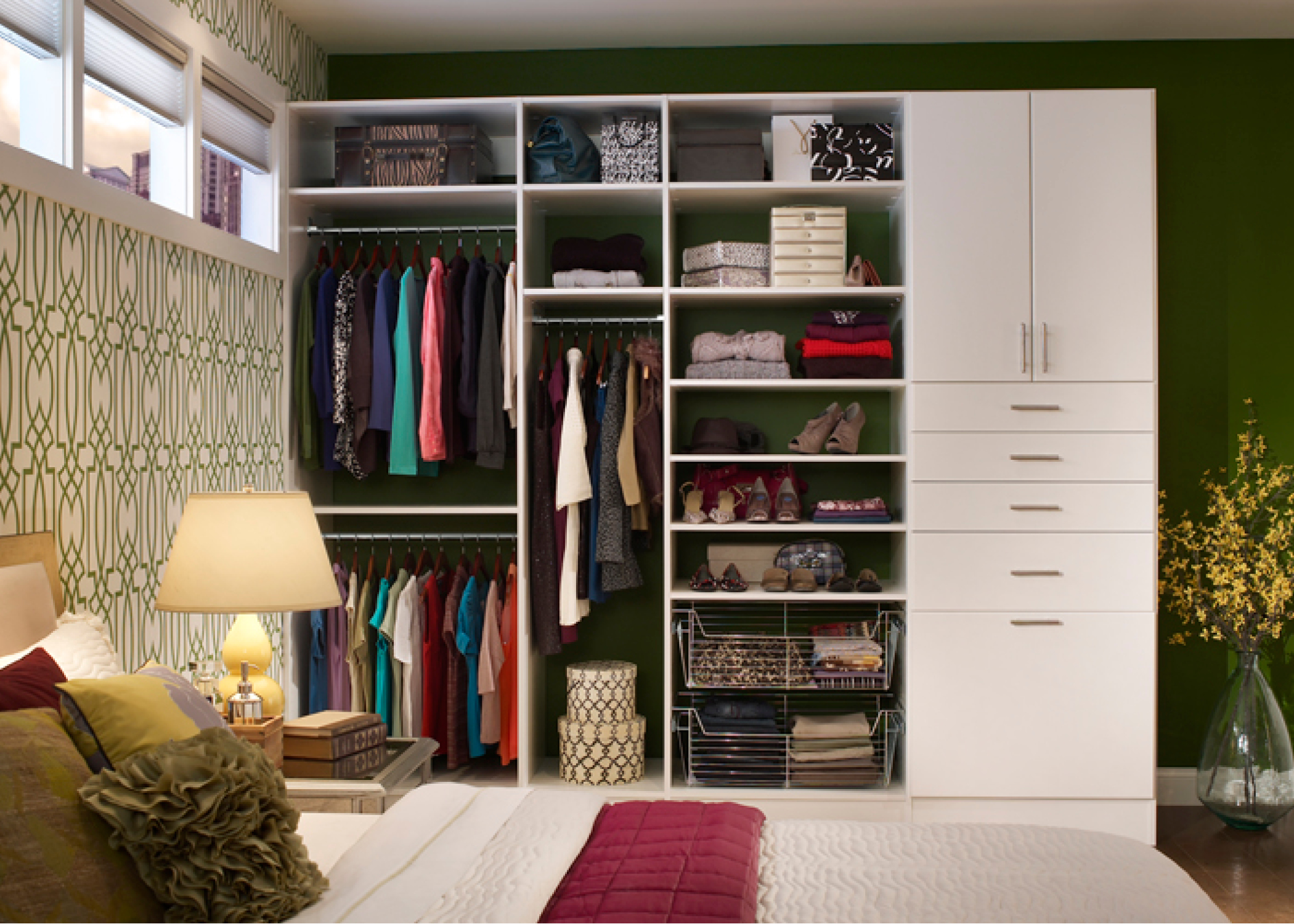 storage closets with doors custom closet designs and storage solutions by desert sky 26866
